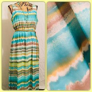 Charisma Chiffon XL Dress 👗 APT. 9 EUC
